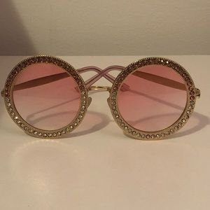 Pink Two Tone Bling Shades